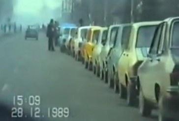 Cozi interminabile: Cum arata Baia Mare la trei zile dupa moartea lui Ceausescu (VIDEO)