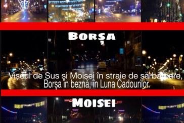 Borsenii se revolta pe Facebook ca nu au lumini ornamentale de Craciun