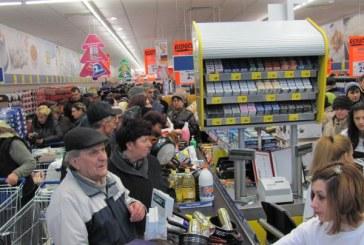 Sighetu Marmatiei: A vrut sa treaca pe langa casele de marcat fara a plati