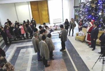 Cea mai reusita editie a Colindului la Consiliul Judetean Maramures