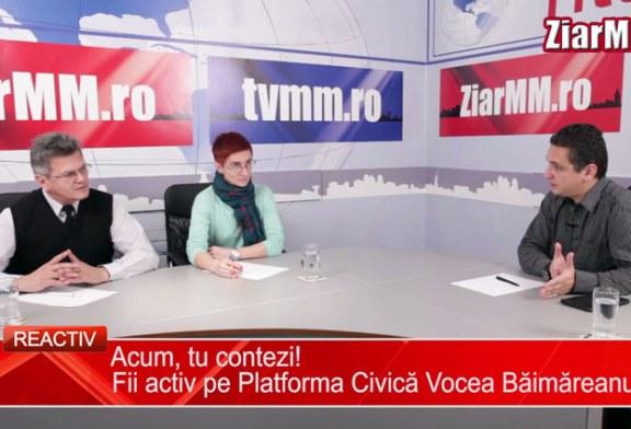 Reactiv: Acum tu contezi! Fii activ pe Platforma Civica Vocea Baimareanului