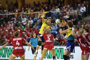 Handbal: Romania a ratat in ultimele secunde o victorie in fata Danemarcei