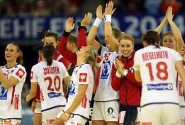 Handbal feminin: Norvegia, campioana europeana dupa 28-25 in finala cu Spania