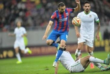 Fotbal: Steaua a fost invinsa de Dinamo Kiev, scor 2-0, si a fost eliminata din Liga Europa