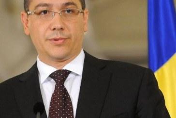 Ponta: Cresterea economica de 4,2% pe primul trimestru este peste asteptari