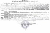 Vanzare teren in Farcasa – Extras publicatie vanzare imobiliara, din data de 12. 01. 2015