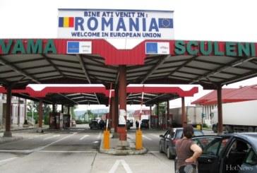 Peste 40,8 milioane de persoane au trecut frontierele Romaniei in 2014
