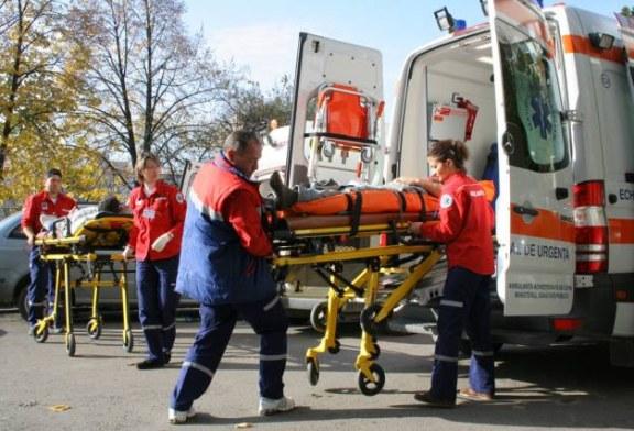 Salaj: Accident de circulatie cu 13 victime; planul rosu de interventie activat