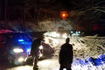 Sapte persoane blocate de mai multe avalanse, in Maramures