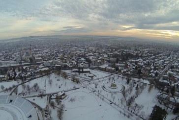 Baia Mare, priveliste superba dintr-o drona (FOTO)