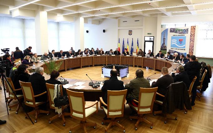 consiliul judetean sedinta