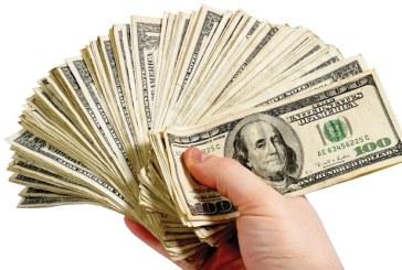 Dolarul a urcat la un nou maxim istoric fata de leu: BNR a calculat un curs de 4,3502 lei/dolar