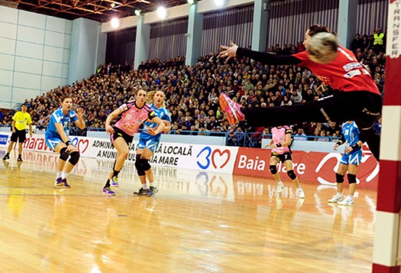 Handbal: HCM Baia Mare castiga usor cu Dunarea Braila si isi muta gandul spre meciul cu Viborg