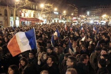 Miting de solidaritate la Paris: Peste 1 milion de oameni prezenti