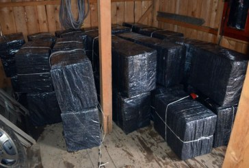 Contrabanda: Maramuresean prins cu peste 42.000 de pachete cu tigari