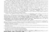 Vanzare teren in Moisei – Extras publicatie vanzare imobiliara, din data de 04. 02. 2015