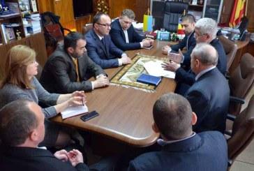 Pod peste Tisa: Discutii la Prefectura Maramures cu partea ucraineana