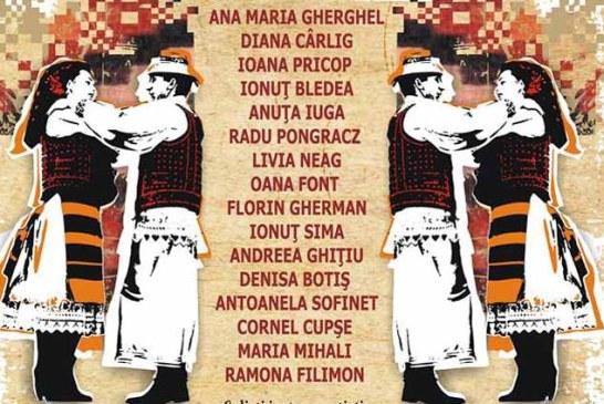 Ansamblul Folcloric Transilvania, spectacol de Lasatul Secului