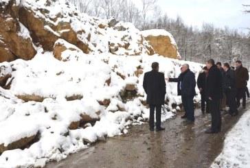 Alunecare de teren in Baia Sprie