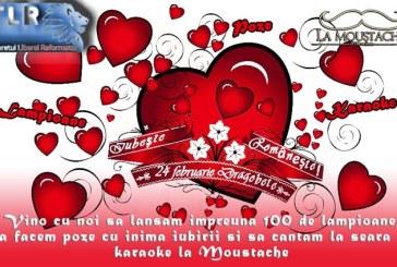 Pe 24 februarie vino sa iubesti romaneste! La Moustache!