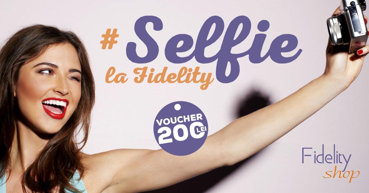 Fidelity Selfie: CONCURS cu premii parfumate