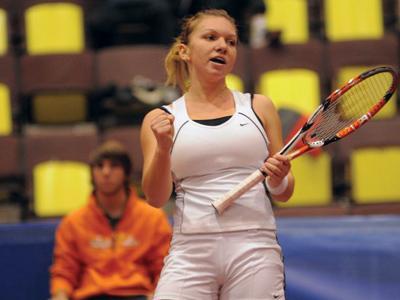 Tenis: Simona Halep, bucuroasa ca joaca in sferturi in Canada pentru al doilea an la rand