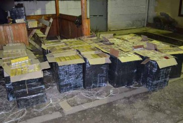 42 de colete cu tigari descoperite in masina unui maramuresean
