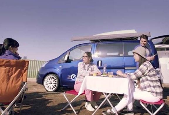 Nissan Motor vrea sa lanseze prima furgoneta electrica cu gratar incorporat (VIDEO)