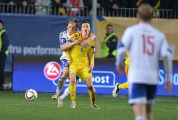 Fotbal: Romania a invins Insulele Feroe, scor 1-0, in preliminariile Euro-2016