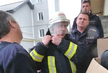 Echipament de protectie din Germania pentru pompierii maramureseni