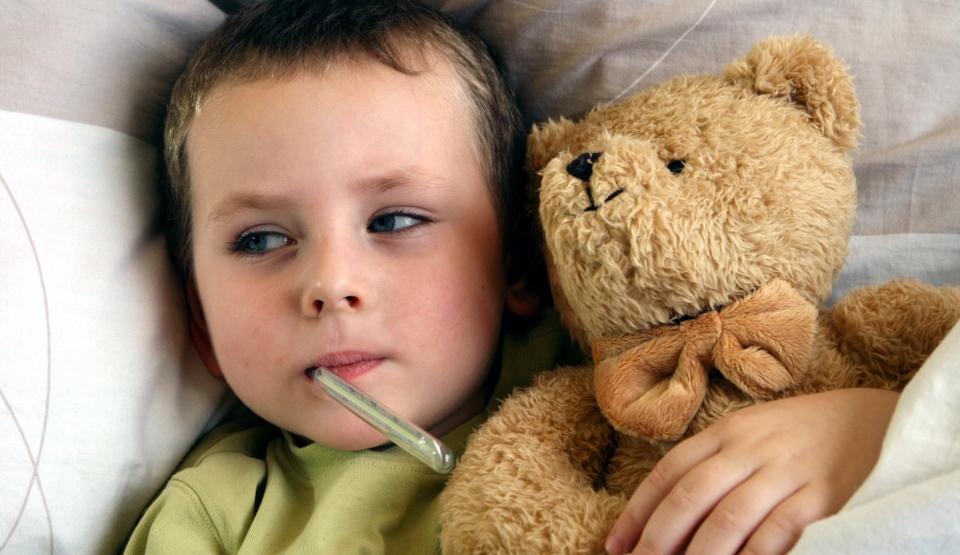 febra copil