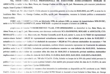 Vanzare Ford Escort – Extras publicatie vanzare imobiliara, din data de 11. 03. 2015