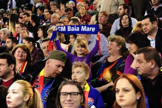 Spectatori nemultumiti la meciul HCM Baia Mare-Dunarea Braila. Vezi de ce