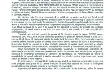 Sindicalistul Liviu Pop vrea sa intre in greva foamei