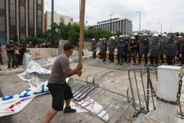 Grecia: Ciocniri intre anarhisti si politie
