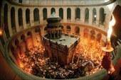 Sfanta Lumina a venit si in acest an la Ierusalim (VIDEO)