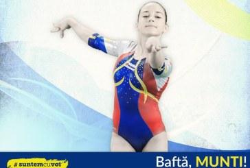 Gimnastica artistica: Andreea Munteanu a cucerit aurul la barna la Europenele de la Montpellier
