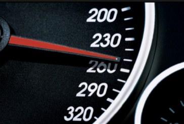 Un sofer britanic, suprins cu viteza de 265 de kilometri/ora pe o autostrada franceza