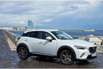 Mazda CX-3 poate fi comandata cu preturi de la 15.290 euro cu TVA inclus