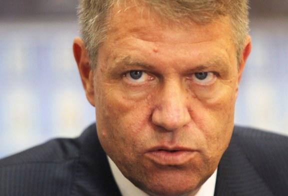 Iohannis: Constat cu dezamagire ca investitiile publice sunt tot mai reduse