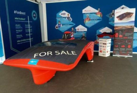 Olanda: 317.000 de euro oferiti la o licitatie pentru un automobil propulsat cu energie solara