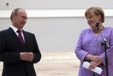 Angela Merkel a discutat cu Vladimir Putin despre criza din Ucraina