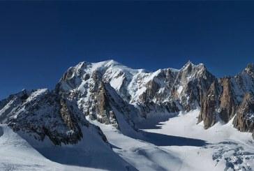 Mont Blanc a pierdut un centimetru in doi ani