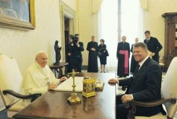 Papa Francisc va vizita Romania