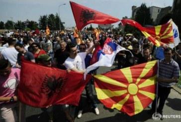 Macedonia: Manifestatie de amploare pentru demisia guvernului