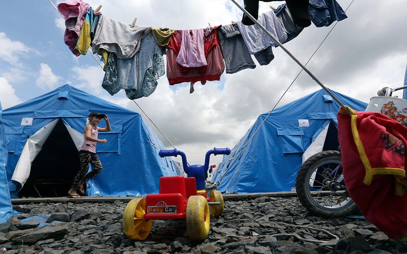 tabara refugiati ucraina razboi