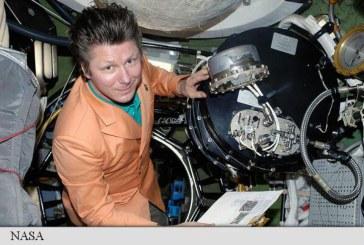 Cosmonautul rus Padalka bate recordul de timp petrecut in spatiu