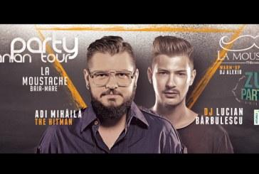 ZU Party, in Baia Mare – Cei mai bine cotati DJ din tara te asteapta in pub-ul La Moustache