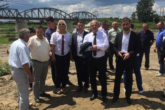 """Zetea: """"Finalizand podul peste Somes vom da un exemplu tuturor administratiilor publice locale"""""""