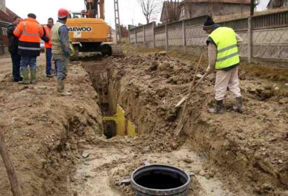 Mai putin de jumatate din populatia Romaniei, conectata la canalizare